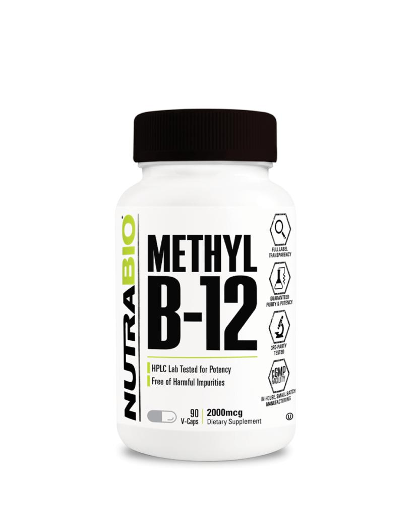 NutraBio - Methyl B-12
