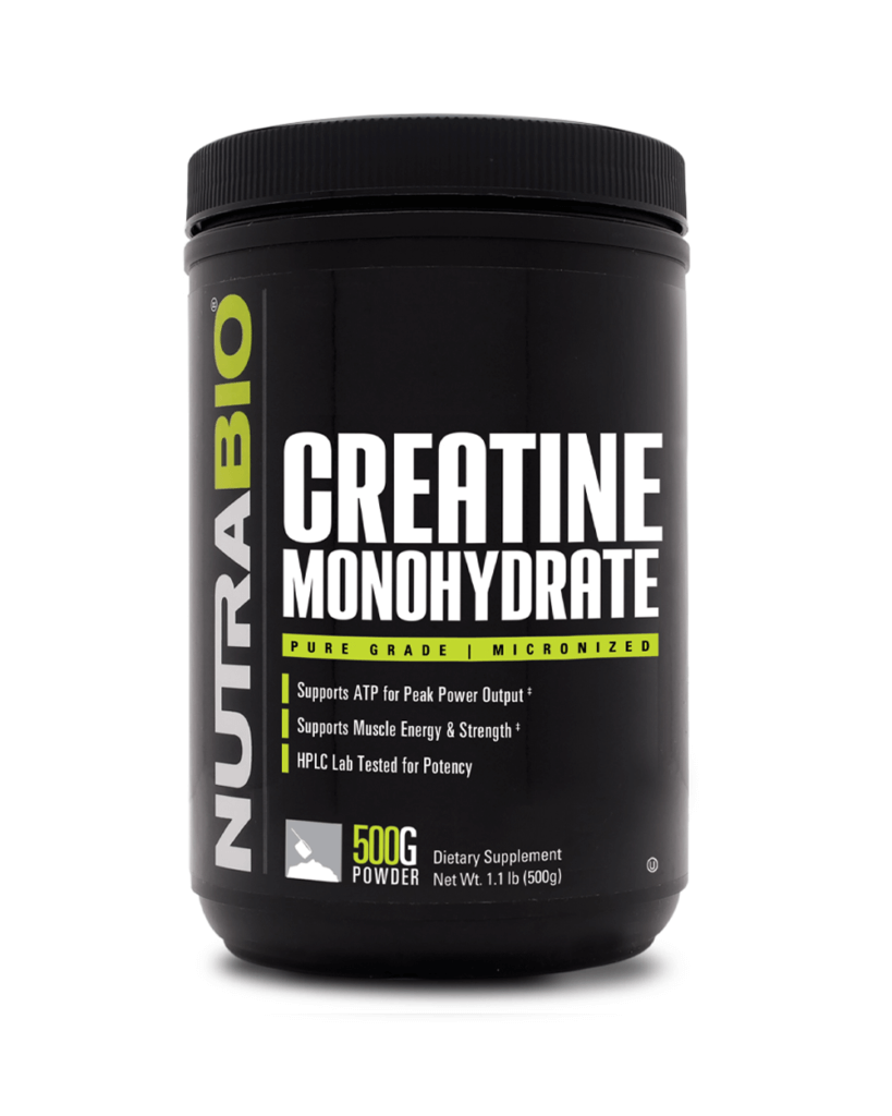 NutraBio - Creatine Monohydrate