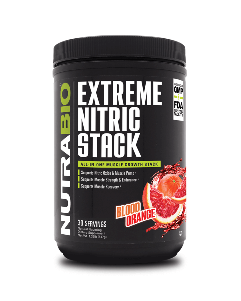 NutraBio - Extreme Nitric Stack