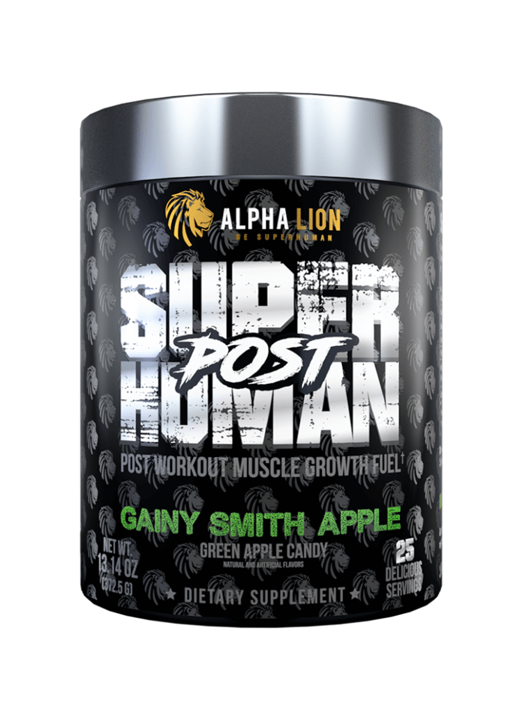 Alpha Lion - SuperHuman - Post