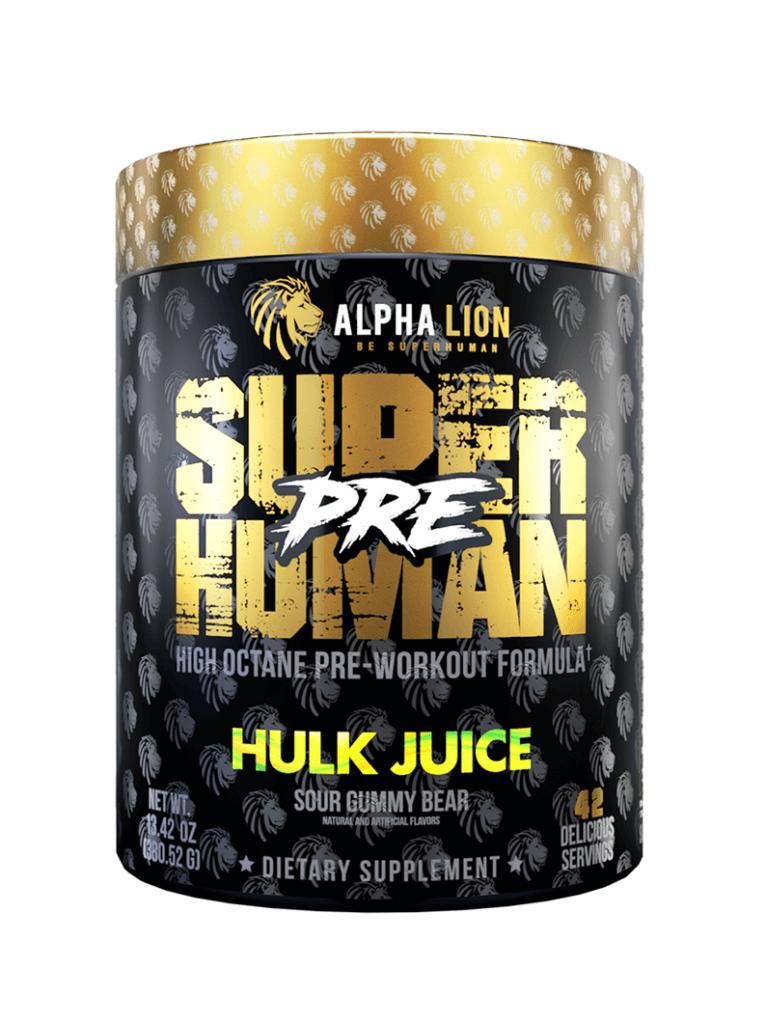 Alpha Lion - SuperHuman - Pre